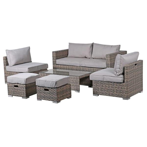 6 piece Grey Garden Set