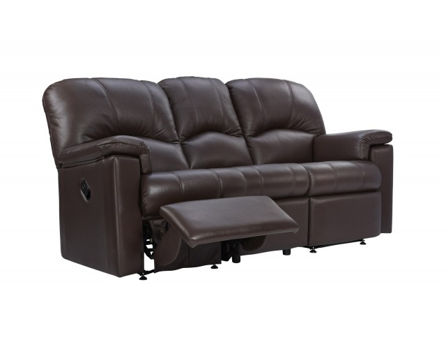 G Plan | Chloe Leather 3 Seater Power Recliner Sofa (Left Hand Facing)