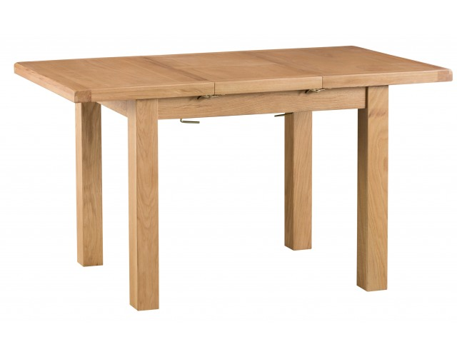 Country Oak 1m Butterfly Extending Table