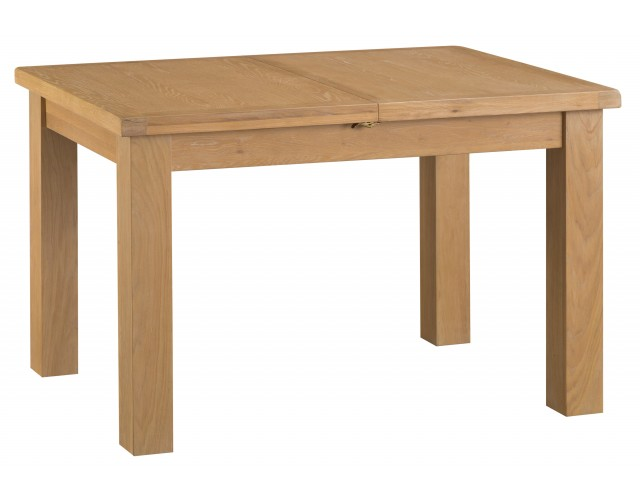 Country Oak 1.25m Butterfly Extending Table