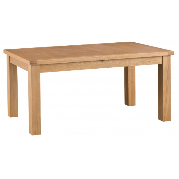 Country Oak 1.7m Butterfly Extending Table