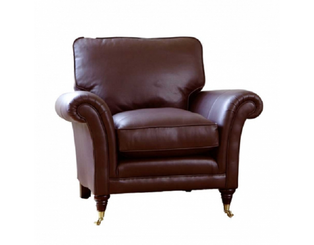 Parker Knoll   Burghley Leather Armchair