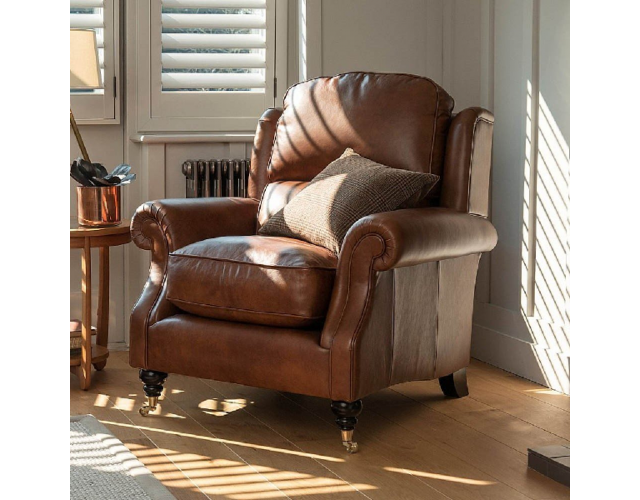 Parker Knoll | Henley Leather Armchair