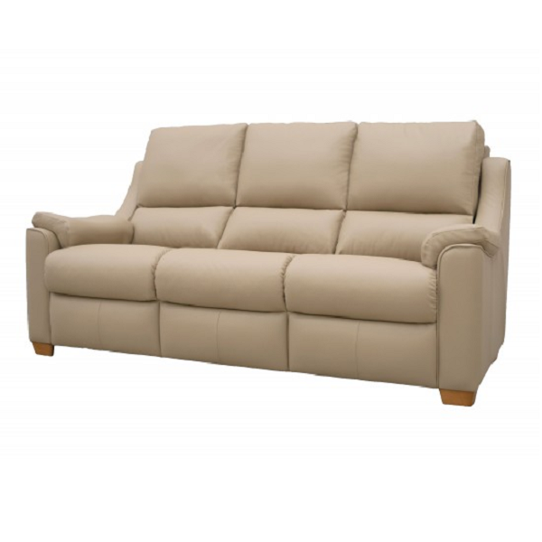 Parker Knoll | Albany Leather 3 Seater Sofa