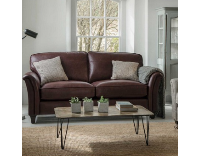 Parker Knoll | Devonshire Leather Grand Sofa