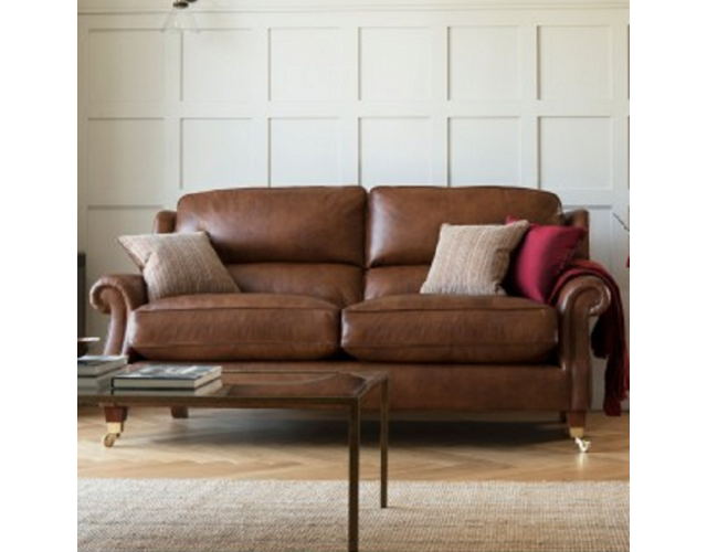 Parker Knoll | Henley Leather Large Two Seater Sofa