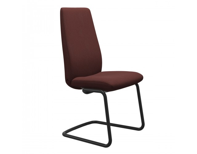 Stressless   Laurel High Back Dining Chair with Steel Legs