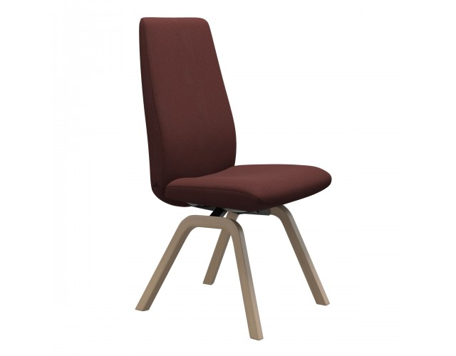 Stressless | Laurel High Back Dining Chair with Wooden Legs