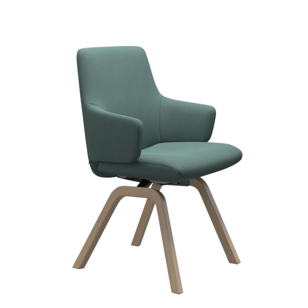 Stressless   Laurel Dining Chair with Arms & Wooden Legs