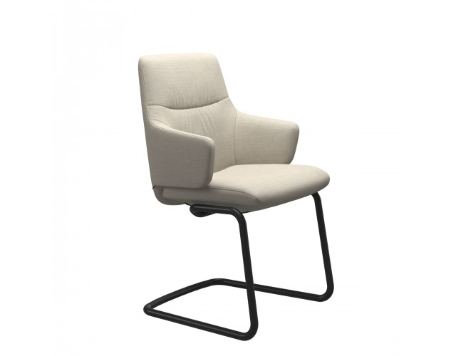 Stressless | Mint Dining Chair with Arms & Steel Legs