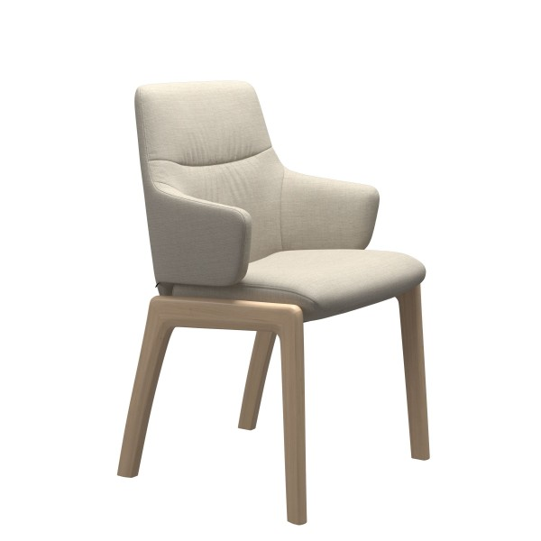 Stressless   Mint Dining Chair with Arms & Wooden Legs