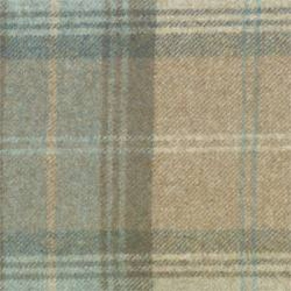8000 - Eau De Nil Clyde Wool Check  +