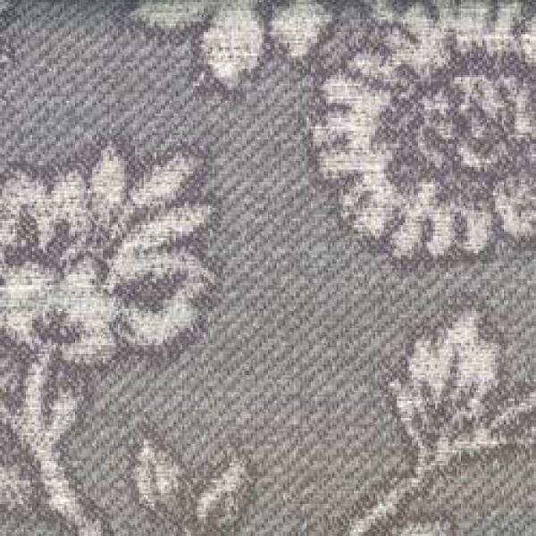 8867 Anthracite Breton Flower Chenille  +