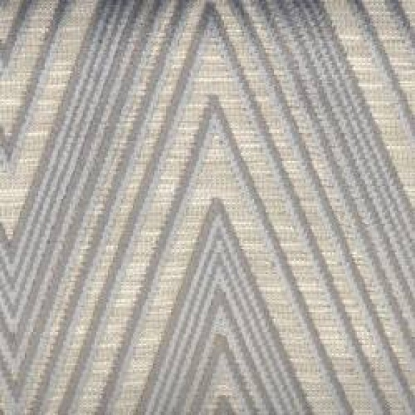 7626 Platinum Chevron Velvet  +
