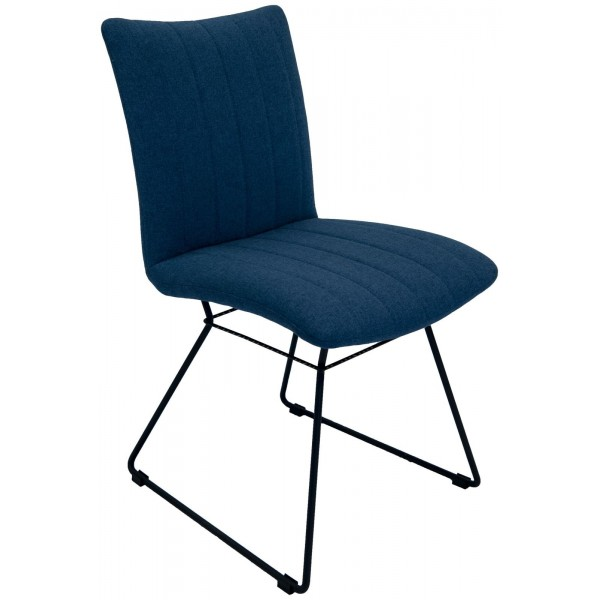 Aura Mineral Blue Dining Chair
