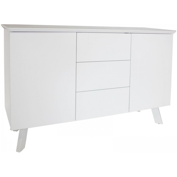 Contempo White Large Sideboard