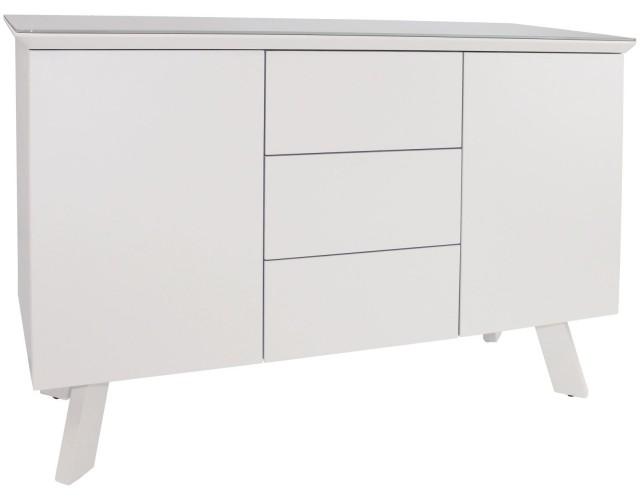 Contempo White Small Sideboard