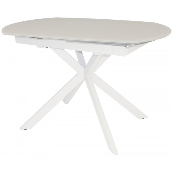 Flux White Motion Dining Table