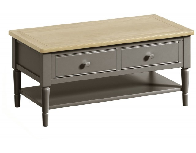 Harmony Pewter Coffee Table