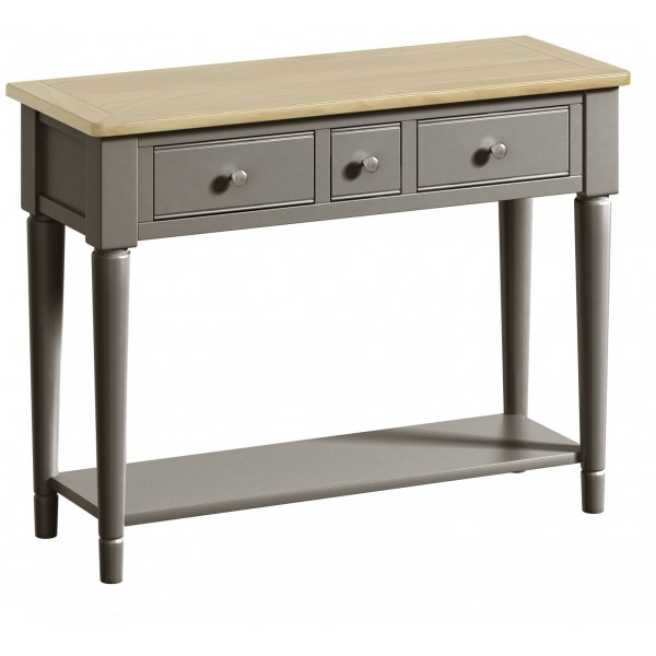 Harmony Pewter Console Table