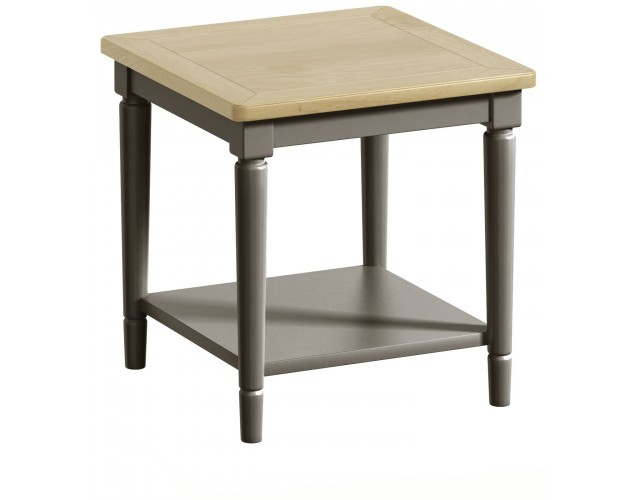 Harmony Pewter Lamp Table