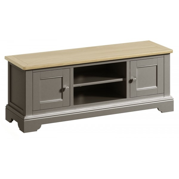Harmony Pewter Large TV Cabinet