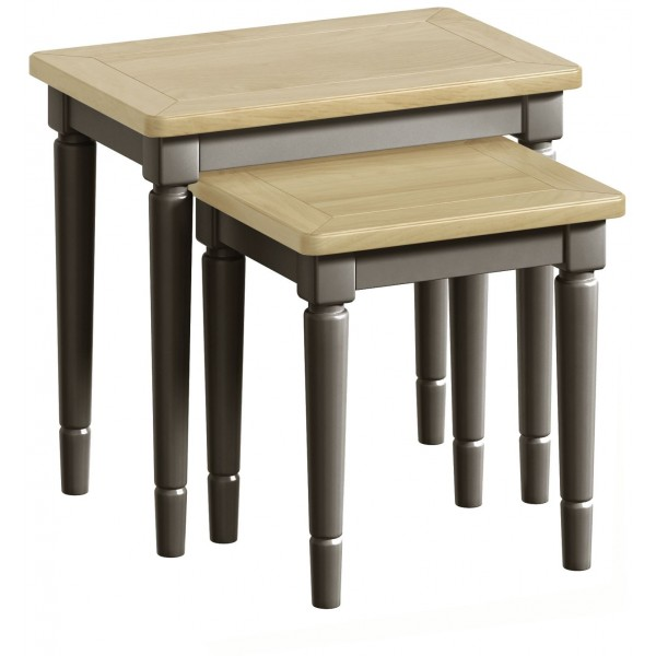 Harmony Pewter Nest of Tables