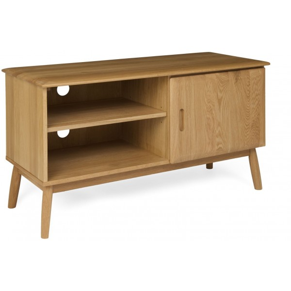 Malmo Oak 1 Door TV Cabinet