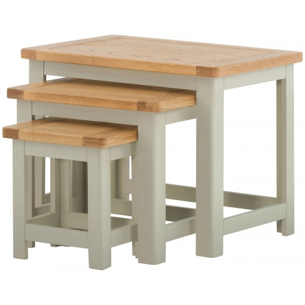 Portland Stone Nest of Tables