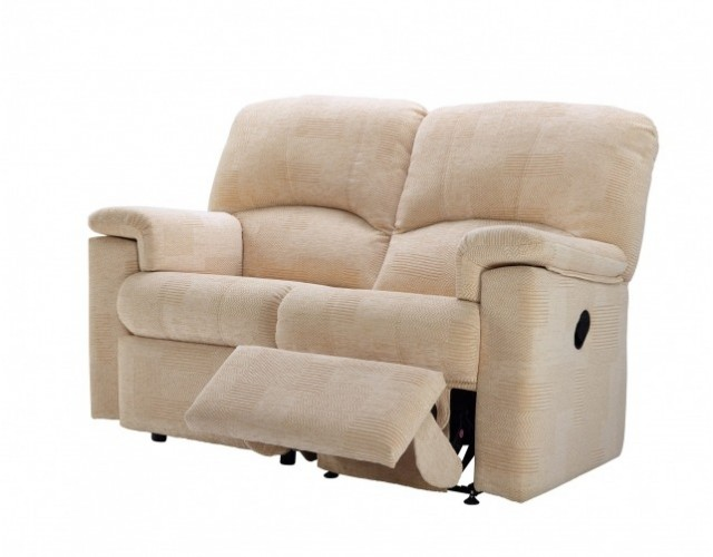 G Plan | Chloe Fabric 2 Seater Recliner Sofa (Left Hand Facing)