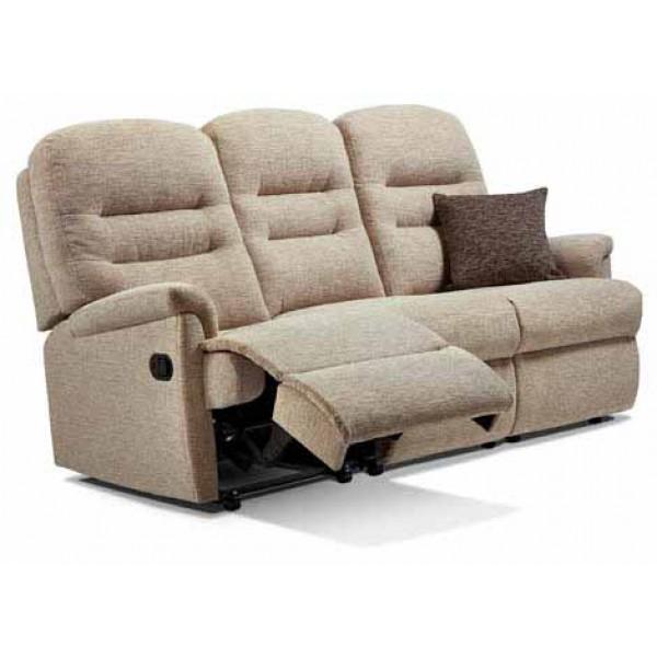 Sherborne | Keswick Standard Fabric Power Reclining 3-Seater Settee