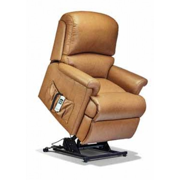 Sherborne | Nevada Small 2-Motor Leather Electric Riser Recliner