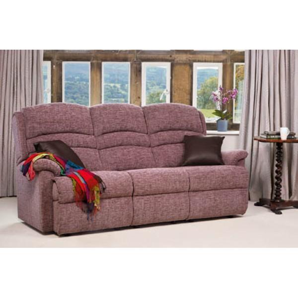 Sherborne   Olivia Standard Fabric Fixed 3-Seater Settee
