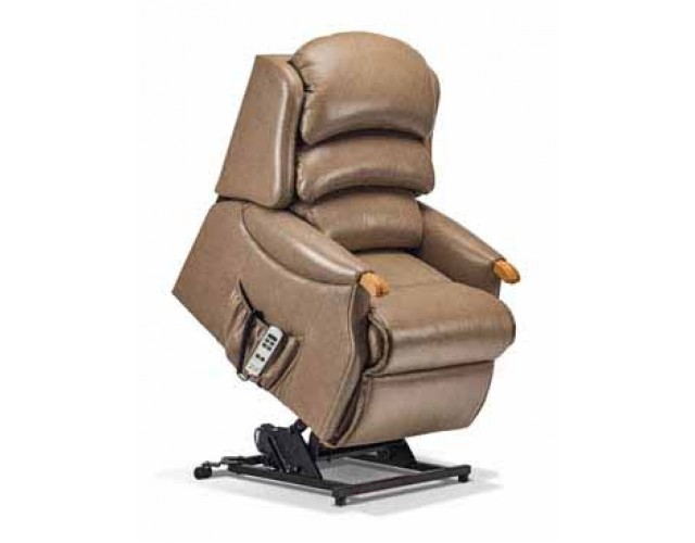 Sherborne | Malham Petite 2-Motor Leather Electric Riser Recliner