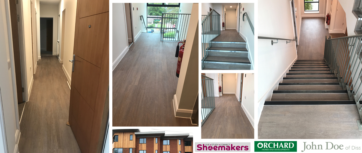 Flooring Shoemakers UEA Student Accommodation in Norwich Norfolk!
